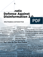 Democratic Defense Against Disinformation 2.0