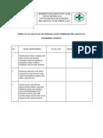 Form Evaluasi Evaluasi Tindak Lanjut Terhadap Pelaksanaan