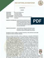 Informe Coordinacion Octubre Del 2010
