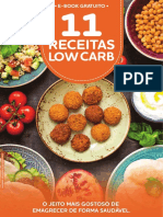 E-book 11 Receitas Low Carb