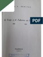 Benitez (1946) El Traje y El Adorno en México