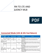 Fast Return and Interfreq MLB