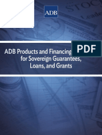 Adb Products Financing Modalities