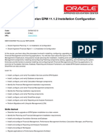 Oracle Hyperion Epm 11-1-2 Installation Configuration 11 1 2 4