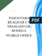 Traslado de Documentos