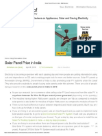 Solar Panel Price in India _ Bijli Bachao
