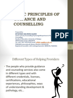 Basic Principles of Guidance and Counselling