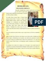 Historia Del Taita Siripi Riberalta Beni Bolivia