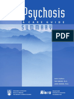 Early Psychosis - Care Guide