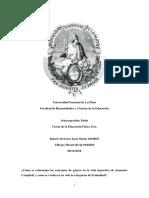 Jeannette Campbell Análisis en Género y Categorías de Feminidad_monografía