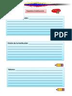 Archivos Para La Libreta de edu Inicial