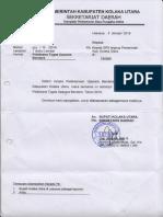 5. Pelaksana Tugas Upaca Bendera 2019