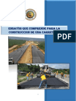 Informe Ensayos Que Comprenden Una Carretera Grupo 3 Corregido Final