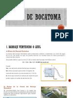 Diseño de Bocatoma