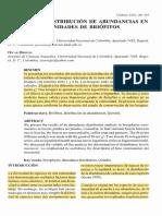 Modelos de Distribucion de Abundancias
