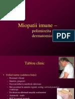 Kineto miopatii imune