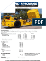 Specifications 20 TON DT