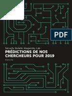 Prédictions 2019 GReAT