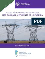 Plan Uso Racional y Eficiente Energia Arg Innovadora 2020