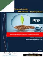 EE in India PAT the Way Ahead