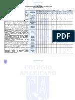 Cronograma de práctica psicopedagogia