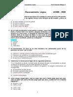 Practica Nº 04 Raz Lógico 3er Examen Precatólica