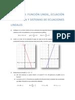 Práctico Nº3 - Función y Ecuación Lineal