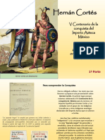 """""""V Centenario Hernán Cortés, Encuentro de dos Mundos y Evangelización"""", primera parte"""