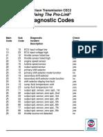 2diagnostic Codes