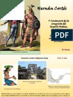 """""""V Centenario Hernán Cortés, Encuentro de dos Mundos y Evangelización"""", segunda parte"""