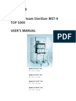 Steam Sterilization BELIMED MST-V - Operation Manual