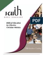 FBS Catalog
