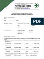 7.1.1 EP 5 Formulir Survey Kepuasan Pelanggan - Ok