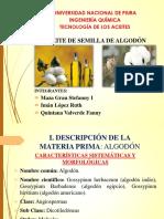 Aceite de Algodon 2019