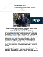 Entretien Exclusif Avec Fabio Frizzi