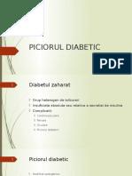 Curs 07 (Conf. Daniel Ion) - Piciorul Diabetic