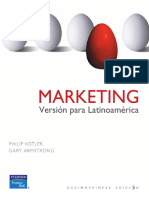 Marketing Version Para Latinoamerica Kottler Phillip Armstrong Gary