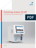 Hematology Analyzer Z3 CRP