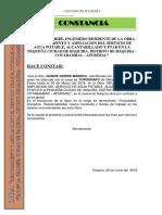 CONSTANCIA Consorcio Haquira
