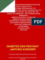 Diabetes Dan Pjk,Farmasi Dr.djoko
