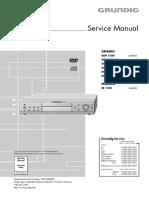 Grundig SE 1230 Service Manual