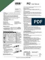 Nitecore P12 Owner's manual