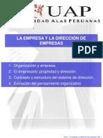 1.2 Organizacion y Empresas