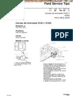 Manual Volvo d12d d12c Carcasa Termostato