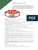 Echipament Individual de Protectie - EIP