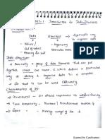 Data structures Unit 1