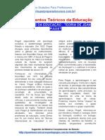 TEÓRICOS DA EDUCAÇÃO – TEORIA DE JEAN PIAGET