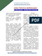 Material de Estudo sobre Teóricos da Educação – TEORIA DE VYGOTSKY