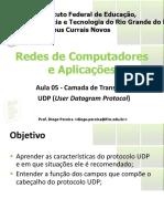 Aula 05 - Camada de Transporte UDP