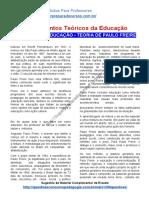 TEÓRICOS DA EDUCAÇÃO – TEORIA DE PAULO FREIRE